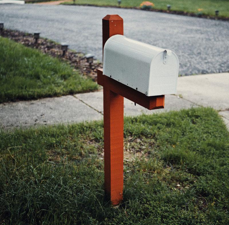 mailbox on curb